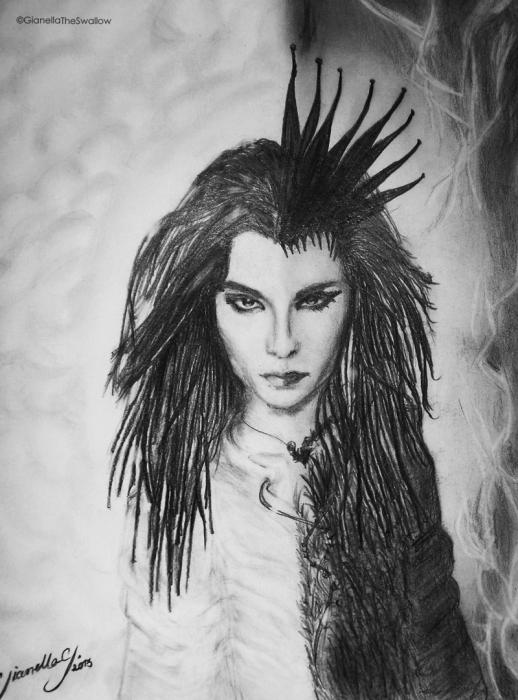 Bill Kaulitz by GianellaGutierrez